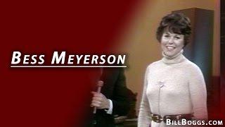 Bess Meyerson Interview with Bill Boggs