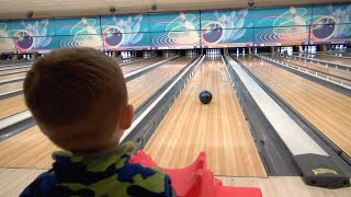 LITTLE BOY LOVES BOWLING