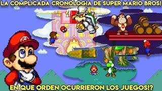 Desenredando la Confusa Cronología de Mario - Pepe el Mago