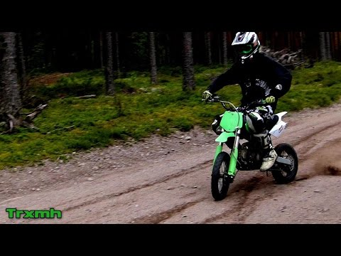 YCF 150 PitBike Wheelies & Slides
