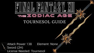 Final Fantasy XII The Zodiac Age - How to get the Tournesol