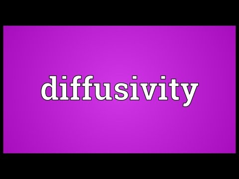 Header of diffusivity