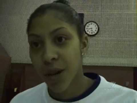 BASKETBALL STAR CANDACE PARKER ON SHELDEN WILLIAMS AND ANTHONY PARKER Video