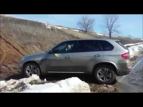 BMW Х5, хDrive 3.0L. 313HP, на жестком бездорожье