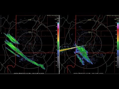3/05/2014 -- Las Vegas SPRAYED via Aircraft at night -- Caught on RADAR