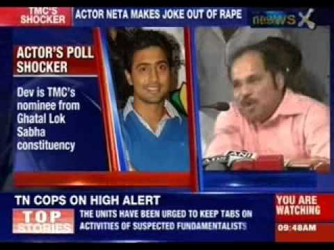 Bengali Actor Dev Compares Lok Sabha Poll Frenzy To Rape video