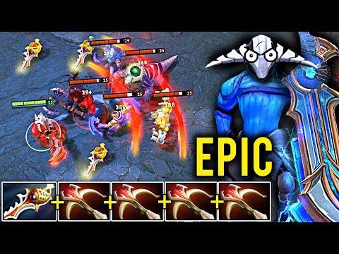 EPIC Comeback SVEN DIVINE RAPIER + 4x DAEDALUS DOTA 2 Patch 7.15 NEW META Gameplay #108