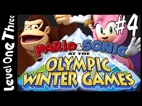 Mario & Sonic At The Olympic Winter Games - Part 4: Crack Some Nuts - Level Best