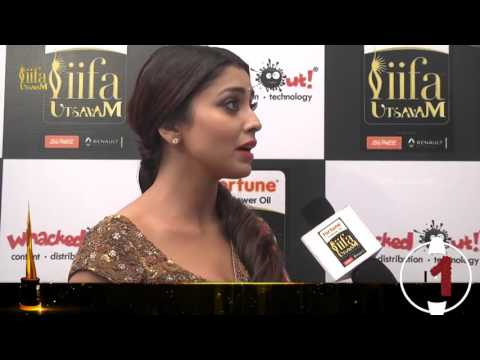 Shriya about performing with Prabhu Deva | IIFA Utsavam 2016 Awards | #Be1forChennai