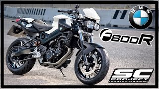 SC Project BMW F800R Ride