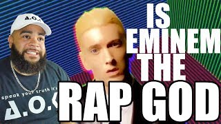 How Have I Not Seen This - Eminem - Rap God (Explicit) [Official Video]