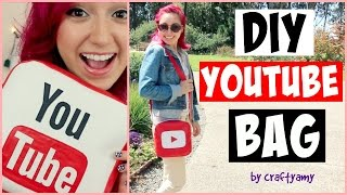 DIY YouTube Vinyl Bag | CraftyAmy
