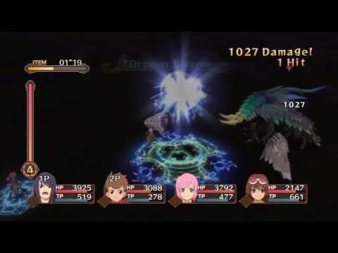 Tales of Vesperia (PS3) - Giganto: Brutal (Co-op) [HD]