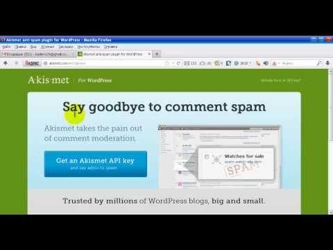 Защита от спама в WordPress | Плагин Akismet