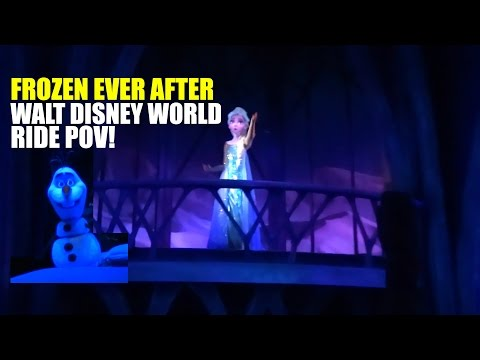 Frozen Ever After Ride POV Highlights Walt Disney World Epcot