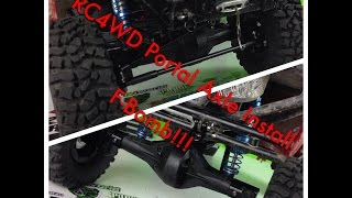RC4WD Portal Axles - F-Bomb! Build Series