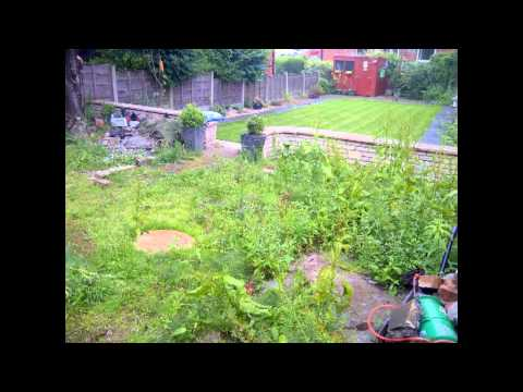 Landscape Gardener middleton New patio area 1.avi