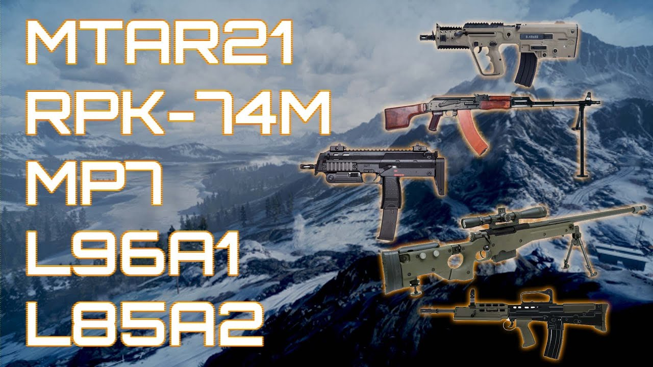 New Weapon Unlocks ( And how to get them): battlefield_4 - Reddit