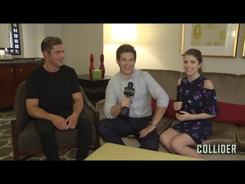 Anna Kendrick, Zac Efron, and Adam Devine Get NSFW Talking about 'Mike and Dave Need Wedding Dates'