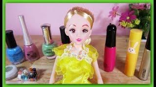 Trò chơi trang điểm, làm tóc, sơn móng tay cho búp bê hóa thành Công chúa / Ami Channel