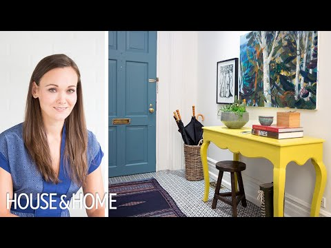 Interior Design – Must-See Entryway Makeover With Paint