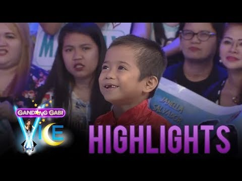 GGV: Vice Ganda receives a bagua from Carlo Mendoza