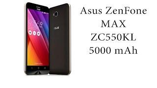 Asus ZenFone Max ZC550KL Распаковка.
