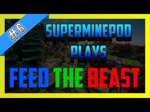 Feed The Beast Survival - Episode 6 - Advanced Diamond Drill without MFE!