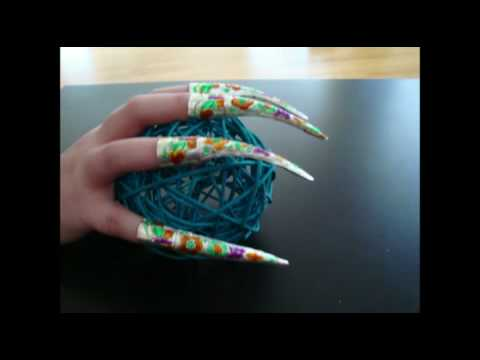 My long nail guard Claws Video