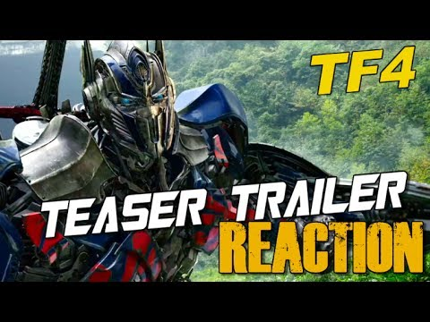 Reaction to Transformers Age of Extinction Teaser Trailer - [TF4 News #103]