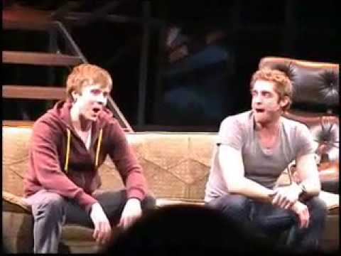 Steven Booth and Colin Hanlon sing Pasek and Pauls Pretty Sweet Day from EDGES