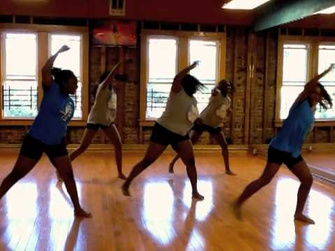 Teen Diaries: pretty Girl Rock Dance Workout video