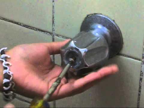 Como arreglar la perilla de tu ducha