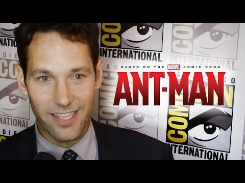 Paul Rudd Talks Edgar Wright Exit From Ant Man - Comic Con 2014