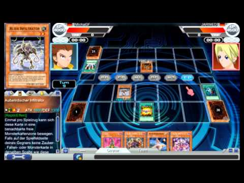 Lets Play Yugioh! Online (German) -4- Agentenpastinate