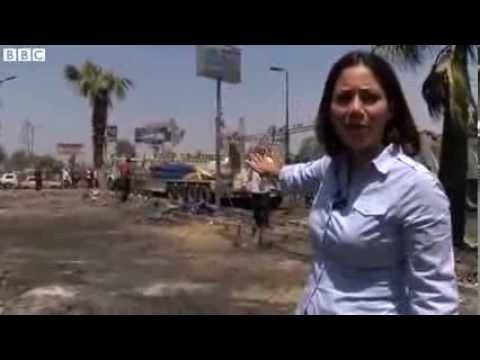 Egypt unrest: Clean-up at site of former Rabaa al-Adawiya camp