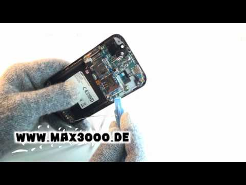 Reparaturanleitung Samsung Galaxy S GT-I9000 Display Touchscreen Reparieren.mpg