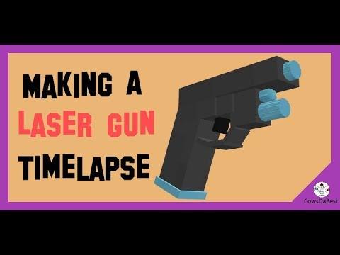 Making A Laser Gun Using Blockbench! [Minecraft 1.13]