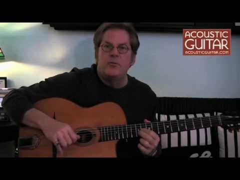 Acoustic Guitar Lesson with John Jorgenson - Gypsy Jazz Vibrato Lesson