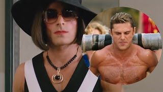 Zac Efron Dresses In Drag & Goes Shirtless In NEW Baywatch Trailer