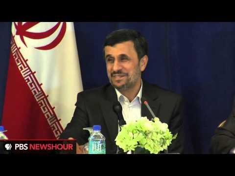Iranian President Ahmadinejad Speaks on U.S. Presidential Election