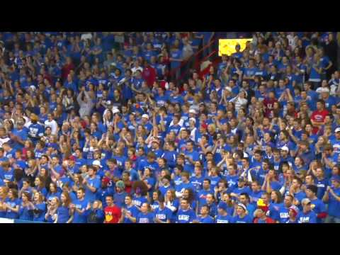 KU Alma Mater & Rock Chalk Chant in HD Video