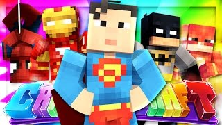 THE SUPERHERO LAIR! | CrazierCraft Modded SMP #25