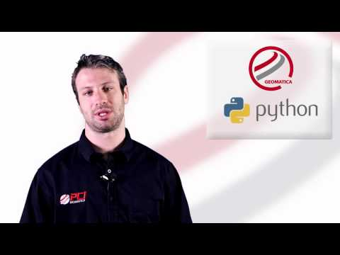 Geomatica 2014 Python API