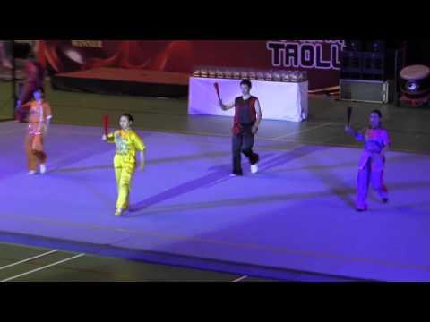 Opening Ceremony - Kejurnas Wushu Junior 2013 - GOR Among Rogo Jogjakarta