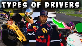 All The Different Types Of Drivers In The F1 Game