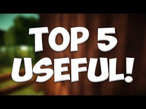 Minecraft Bukkit Plugins - Top 5 Useful Plugins! [for admins/players]