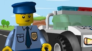 LEGO Juniors Quest - Police Officer | Animation (Cartoon) full movie 4 kids