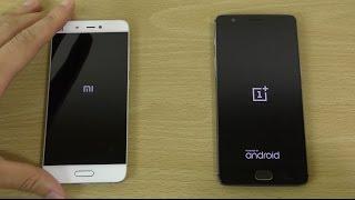 Xiaomi Mi5 MIUI 8 vs Oneplus 3 - Speed Test!