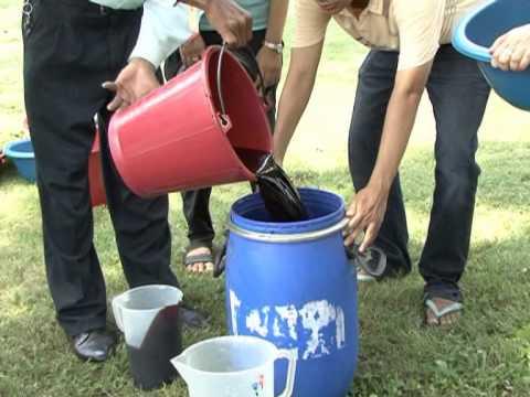 การผลิตน้ำหมักชีวภาพ